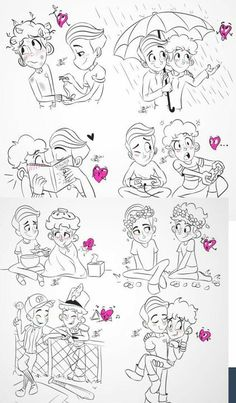 In A Heartbeat fanart Gay Comics, Cute Comics, Gay Mignon, Gay Lindo, Lgbt Memes, Cute Gay Couples, Wattpad, Gay Art, Cute Love