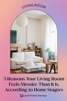 In fact, you may be making some small mistakes that are actually making your living room look way messier than it really is. The good news is you can turn that around pretty easily. House Cleaning Tips, Cleaning Hacks, Mildew Remover, Bohemian Living Rooms, Lots Of Windows, Cozy Corner, Diy Molding, Mold And Mildew, Home Staging