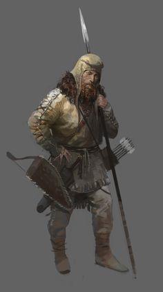 ArtStation - Scythian soldier , Faraz Shanyar