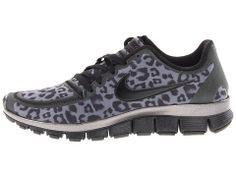 Nike Free 5.0 V4 - cheetah print sneaks? These may be enough movitation to run :)