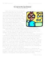 Second Grade Reading Comprehension - good stories to use with comprehension questions