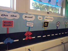 Accelerated Reader certification bulletin board for first grade