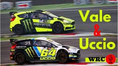 Valentino Rossi & Uccio - Monza Rally Show 2015 - WRC Sound!
