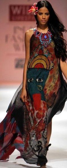 Bohamian runway style ♥✤ | Keep the Glamour | BeStayBeautiful