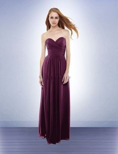 I'm strongly leaning toward something like this (long chiffon #165). It reminds me a lot of #560, just longer.