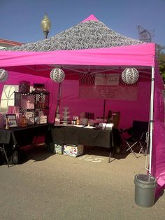 GREAT idea for setting up at events for your Pink Zebra business!  http://zebracandlesprinkles.com