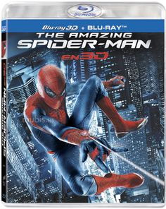 9e8d3743880 The Amazing Spider-Man (Four-Disc Combo  Blu-ray + UltraViolet Digital Copy)  - Movies  Action Adventure Fantasy   BluRay