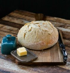 No-Knead Bread | http://www.ihearteating.com | #yeast #easy #recipe