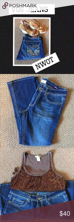 VGS Jeans NWOT Bootcut jeans 30' inseam  Never Worn VGS Jeans Boot Cut