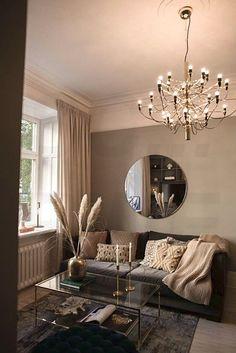 Home Room Design, Home Interior Design, Living Room Designs, Living Room Decor, Bedroom Decor, Elegant Living Room, Apartment Interior, House Rooms, Home Decor