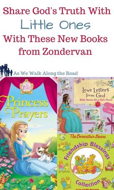 Looking for good books to share Biblical truths with little ones? Here are three new books to help.