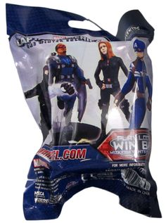 Marvel Captain America The Winter Soldier Heroclix foil pack.  5 glitters