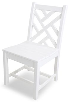 Luxury POLYWOOD Chippendale Dining Side Chair