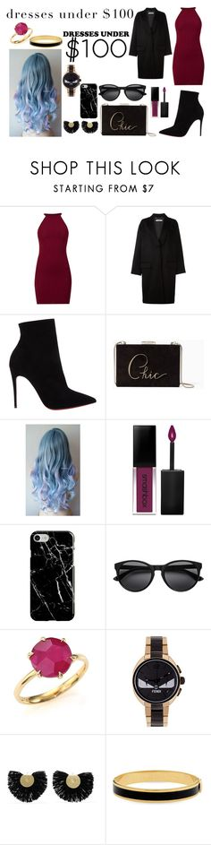 """""""Party Style #147"""" by paola200 ❤ liked on Polyvore featuring Givenchy, Christian Louboutin, Kate Spade, Smashbox, Recover, Ippolita, Fendi, Katerina Makriyianni and Halcyon Days"""