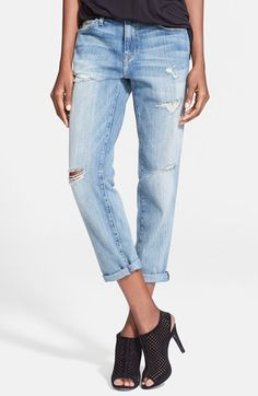 Current/Elliott 'The Fling' Boyfriend Jeans (Loved) available at #Nordstrom