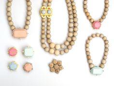 stephanie hensle - wood jewelry