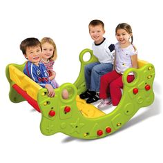 Fisher-Price Qwikflip Climber, Rocker and Bench I think Sophia would just love this thing! Daycare Rooms, Home Daycare, Daycare Ideas, Preschool Toys, Preschool Classroom, Elmo Toys, Family Child Care, Outdoor Play Areas, Little Tikes