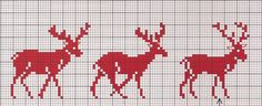 no color chart, just use pattern chart colors as your guide. or choose your own colors. Xmas Cross Stitch, Cross Stitch Charts, Cross Stitch Designs, Cross Stitching, Cross Stitch Embroidery, Theme Noel, Cross Stitch Animals, Christmas Embroidery, Knitting Charts