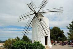 Molino en Puig d´en Valls #Ibiza