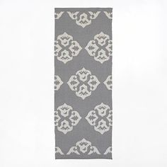 Andalusia Wool Dhurrie - Feather Gray/Ivory #westelm