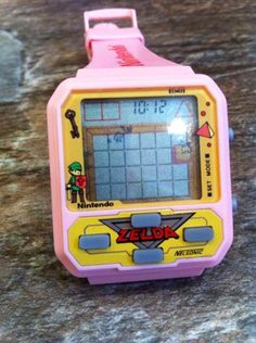 It is official ? Pocket Game, Penny Arcade, Retro Watches, Geek Games, Game & Watch, Mini Games, Childhood Toys, Legend Of Zelda, Game Design