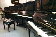 PIANOS KAWAI LAST CHANCE SELLING FAST Used Yamaha & many more leading brands…