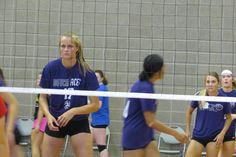 Northwestern College Summer Volleyball Camp 2016 Orange City Iowa  MOC-FV High Scool