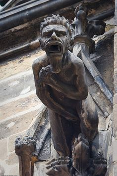 Prague, Part 21: Wordless Wednesday – St. Vitus Cathedralgargoyles | Adam Paul