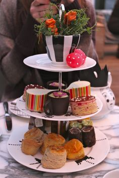 The Mad Hatter Tea at the Sanderson Hotel #fairytale #London #british