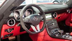 Red FAB Design Jetstream Mercedes-Benz SLS AMG Roadster #mbhess #mbcars #mbtuning #fabdesign