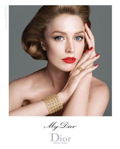 Raquel Zimmermann for My Dior Jewelry 2012 by photographer Steven Meisel http://www.bijouxmrm.com/ https://www.facebook.com/marc.rm.161 https://www.facebook.com/Bijoux-MRM-388443807902387/ https://www.facebook.com/La-Taillerie-du-Corail-1278607718822575/ https://fr.pinterest.com/bijouxmrm/