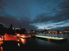 Swimming Pool on the Spree River | Official website of FERNANDO MENIS, architect