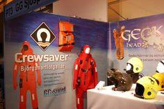 GG Sport exhibiting at IceFish 2014.