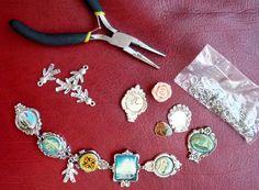 how to make souvenir spoon bracelets