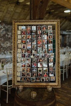 Charlotte Balbier for a Beautifully Styled Wedding in Scotland. Wedding seating plan, pictures from square-snaps.com.