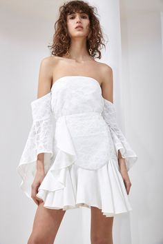 Indian Fashion Modern, Midi Dresses Online, Strapless Dress, Summer Outfits, Street Style, Womens Fashion, Skirts, Ivory, Shopping