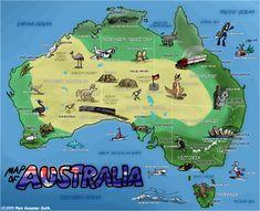 Map Of Australia Dangerous Animals.18 Best Australia Images In 2016 Map Of Australia Australian