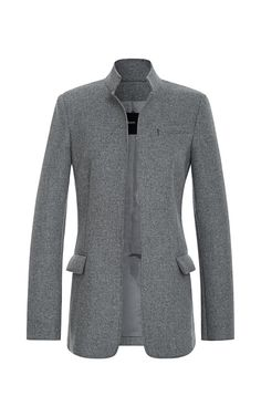 Wool Coating Blazer by Peter Som - Moda Operandi
