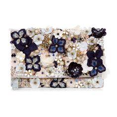 Accessorize Kate floral del bolso de embrague de Foldover
