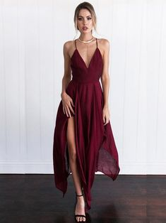 46f1be57b62 2017 Custom Made Burgundy Prom Dress