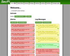 Sec Pi ist eine Open-Source-Alarmanlage basierend auf dem Raspberry Pi.