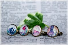 Wildlife Art Cabochon Ring, Badger Ring, Bronze Ring, Statement Rings, Wildlife Jewellery, Adjustable Rings, Antique Bronze Rings, Xmas Gift by HelenFaerieArt on Etsy