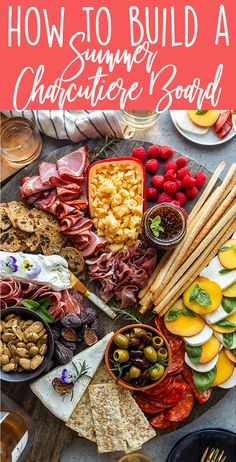 Summer entertaining can be fun and easy with this Summer Charcuterie Board!  party ideas | appetizers | easy cheese plate | cheese board inspiration | Summer partyfood | holiday cheese board | 4th of July | Labor Day | picnic | garden party | patio party | BBQ appetizer ideas   #PrimoTaglio #ad