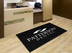 Patterson Dental Office Logo Rug