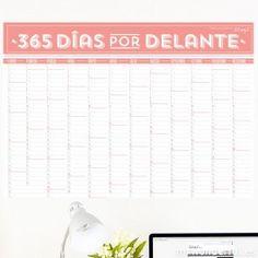 Calendario de pared - 365 días por delante