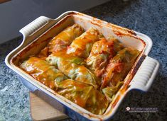 No summer cookout is complete without a tray of stuffed cabbages! Tender cabbage leaves stuffed with rice, seasoned ground meats and a rich tomato sauce make this the perfect summer comfort food. Plus these freeze beautifully! Best Cabbage Rolls Recipe, Cabbage Rolls Polish, Cabbage Recipes, Meat Recipes, Cooking Recipes, Salad Recipes, Pastry Recipes, Cooking Ideas, Vegetable Recipes