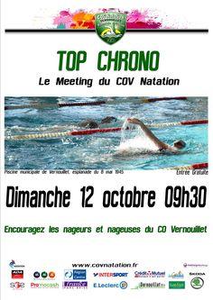 12/10/2014 Top Chrono, meeting du COV natation