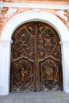 Door - San Agustine Church, Manila Philippines