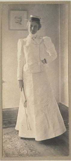 """Portrait of Mrs. H., 1898. Get the first chapter of """"The Secret Life of Anna Blanc"""" free at http://jenniferkincheloe.com/the-first-chapter-of-the-secret-life-of-anna-blanc-2/"""