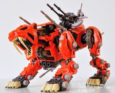 Zoids  Kotobukiya Highend Master Model  HMM-006 Saber Tiger     Zoids are model toy kits originally released by Tomy (now Takara-Tomy) in 1983. Zoids is short for Zoic Androids. More at http://www.squidoo.com/zoids